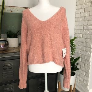 Free People Blush Spring Sweater